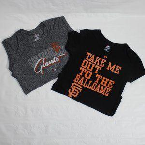 San Francisco Giants Women's T Shirt Bundle. S